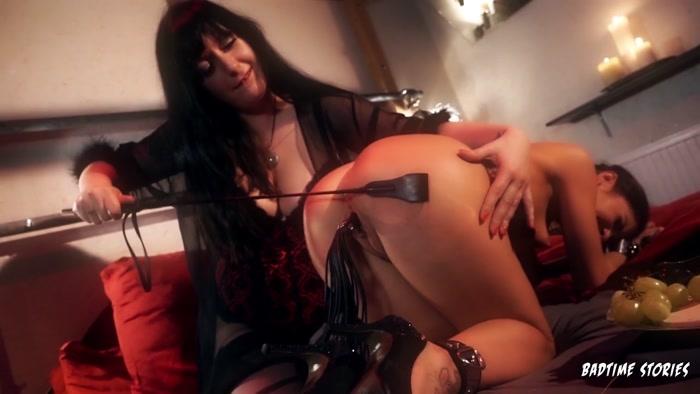Lullu Gun, Lady Cosima - Hot German dominatrix Lady Cosima dominates submissive slave babe - Part 2 (HD 720p)