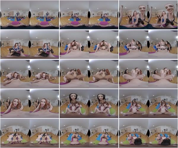 Yoga Class, Ashley Lane, Lacy Lennon, Maya Bijou, December 23, 2018, 3d vr porno, HQ 2048p