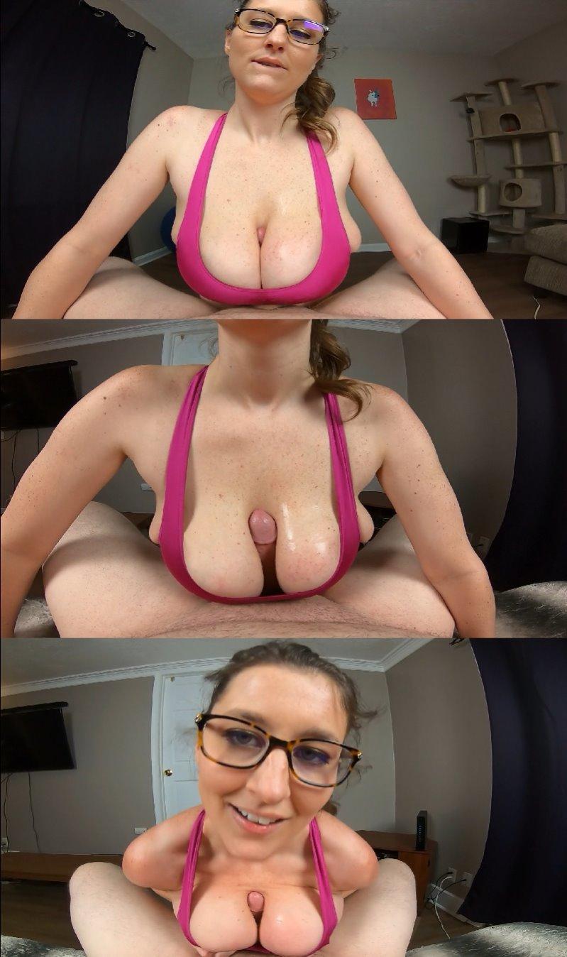 KCupQueen - Kacie Tittyfucks Her Trainer - FullHD 1080p