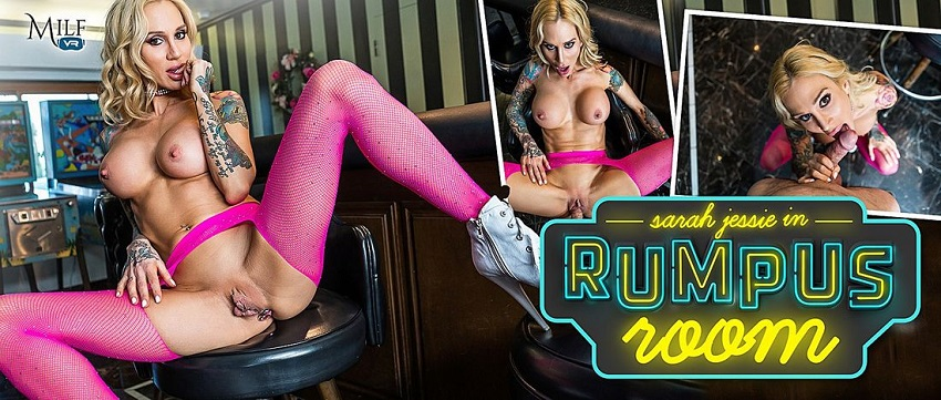 Rumpus Room, Sarah Jessie, Feb 8, 2019, 3d vr porno, HQ 1600p