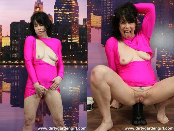 DGG in pink dress take huge black dong in the ass (FullHD 1080p)