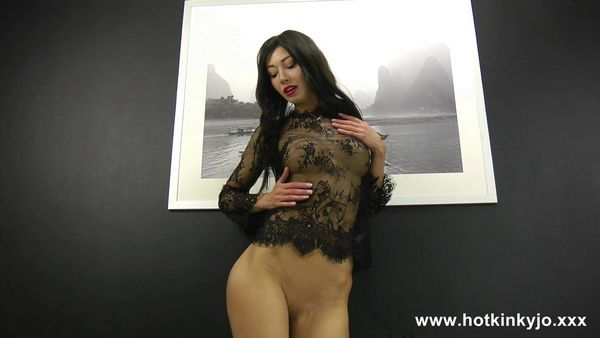 HotKinkyJo - Black wall and huge anal terrorist fuck (FullHD 1080p)
