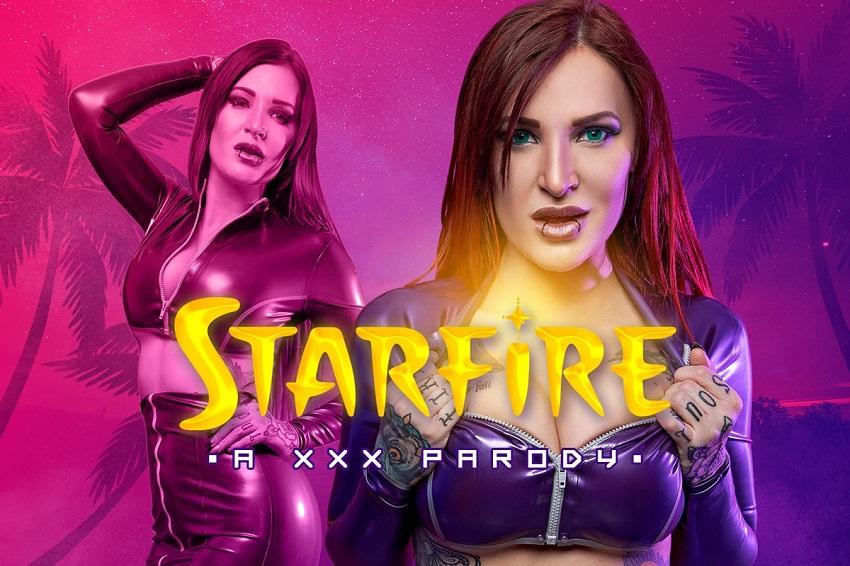 Starfire A XXX Parody, Alexxa Vice, Jan 12, 2019, 5k 3d vr porno, HQ 2700p