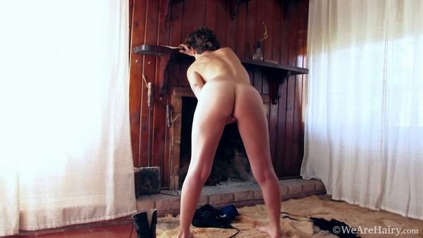 Tatiana - Blue Shorts and Black Lingerie (HD 720p)