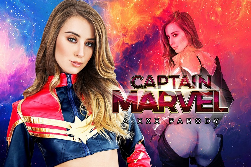 Captain Marvel A XXX Parody, Haley Reed, Mar 8, 2019, 5k 3d vr porno, HQ 2700p