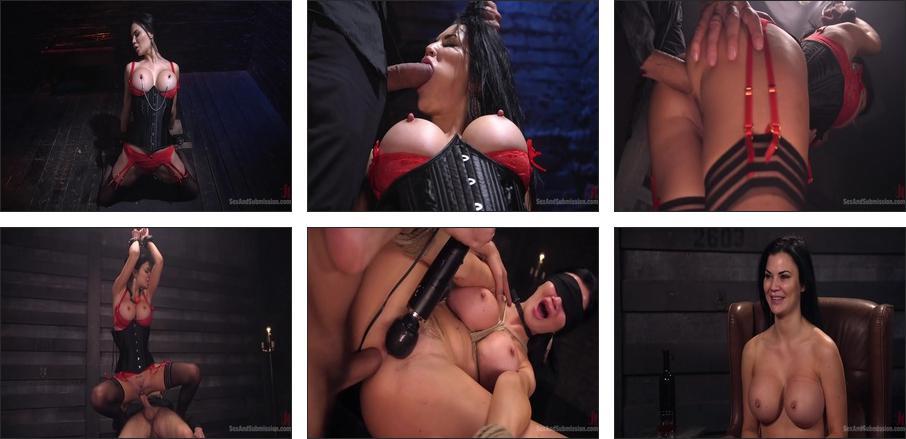 Big Tit Beauty Jasmine Jae Anal Fuck Doll for Big Dick, Scene 1