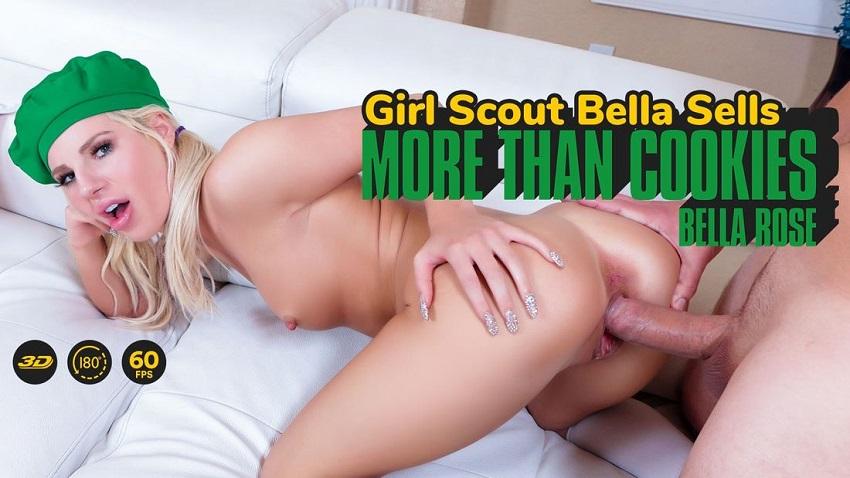 Girl Scout Bella Sells More Than Cookies, Bella Rose, 3d vr porno, HQ 1920p