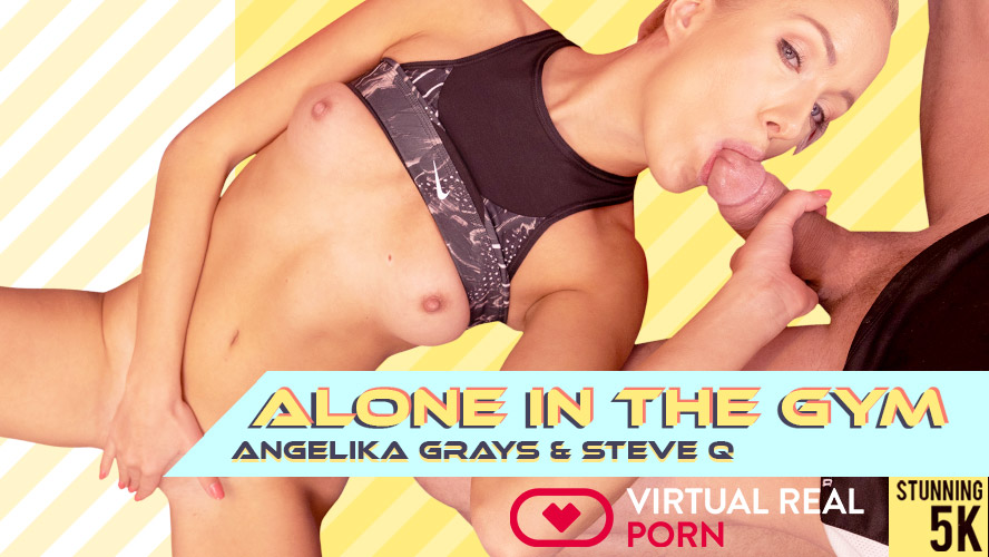 Alone in the gym, Angelika Grays, Dec 31, 2018, 3d vr porno, HQ 2160p