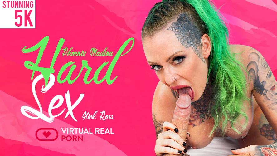 Hard Sex, Nick Ross & Phoenix Madina, Oct 8, 2018, 3d vr porno, HQ 2160p