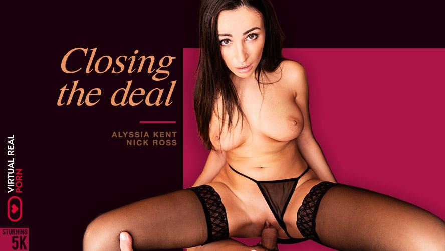 Closing the deal, Alyssia Kent, Feb 28, 2019, 3d vr porno, HQ 2160p
