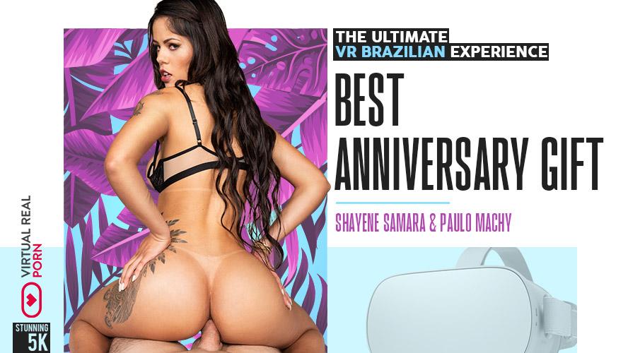 Best Anniversary Gift, Shayene Samara, Feb 11, 2019, 3d vr porno, HQ 2160p