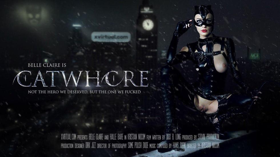 Catwhore, Belle Claire, 5k 3d vr porno, HQ 2880p