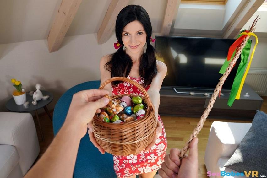 Easter Egg Hunt, Arian Joy, Apr 20, 2019, 3d vr porno, HQ 1920p