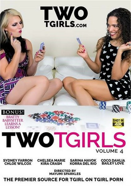 Two TGirls 4 (HD Rip 720p) Cover