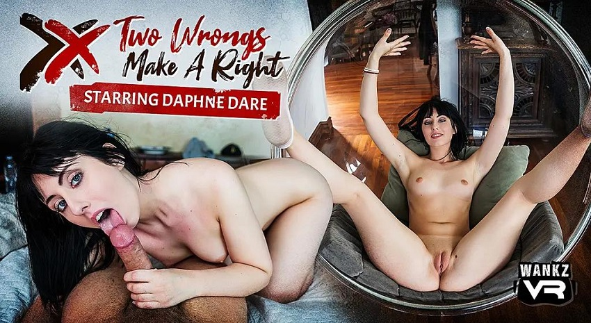 Two Wrongs Make A Right, Daphne Dare, Feb 23, 2019, 3d vr porno, HQ 2300p
