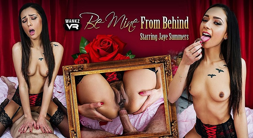 Be Mine From Behind, Jaye Summers, Feb 16, 2019, 3d vr porno, HQ 1600p