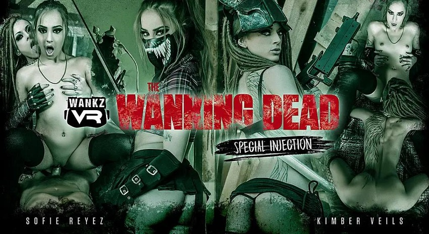 The Wanking Dead: Special Injection, Kimber Veils, Sofie Reyez, Oct 27, 2018, 3d vr porno, HQ 2300p