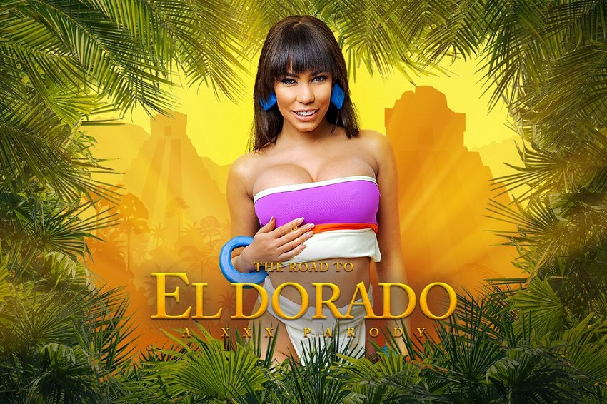 The Road to El Dorado A XXX Parody, Gia Milana, May 3, 2019, 5k 3d vr porno, HQ 2700p