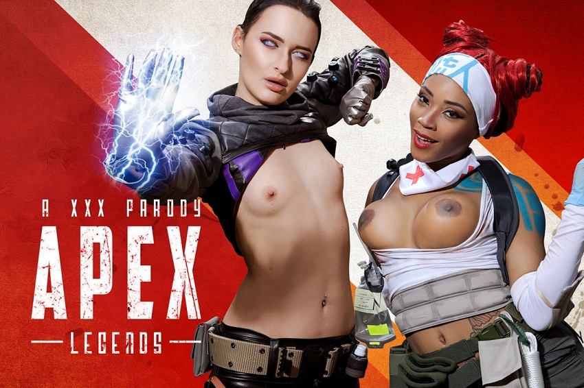 Apex Legends A XXX Parody, Kiki Minaj, Sasha Sparrow, May 10, 2019, 5k 3d vr porno, HQ 2700p