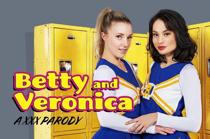 Betty & Veronica A XXX Parody, Liv Wild, Kate Kennedy, Mar 29, 2019, 5k 3d vr porno, HQ 2700p