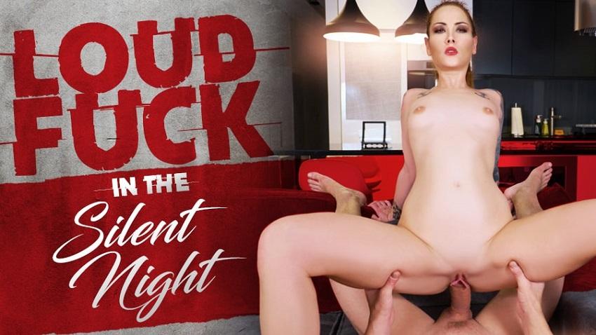 Loud Fuck In The Silent Night, Foxy Sanie, Dec 03, 2018, 5k 3d vr porno, HQ 2880p