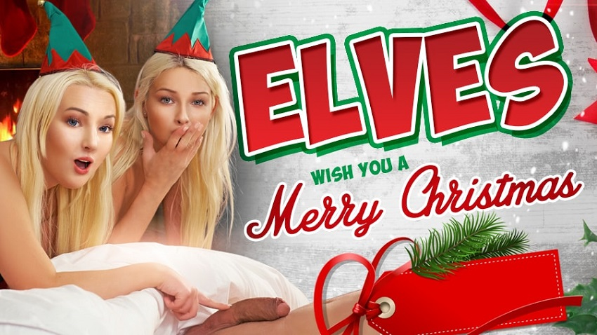 Elves Wish You A Merry Christmas, Karol Lilien, Lovita Fate, Dec 17, 2018, 5k 3d vr porno, HQ 3240p