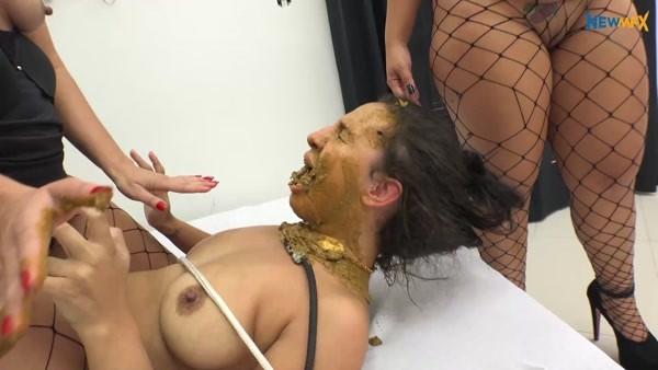 Victoria, Nicole, Saori Kido - Shit Job (2019 / FullHD 1080p)