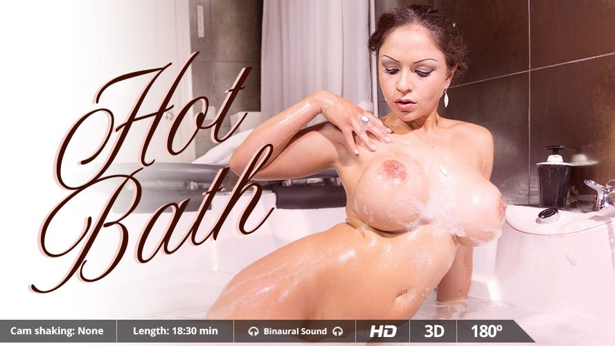Hot Bath, Marta La Croft, May 15, 2015, 3d vr porno, HQ 1500p