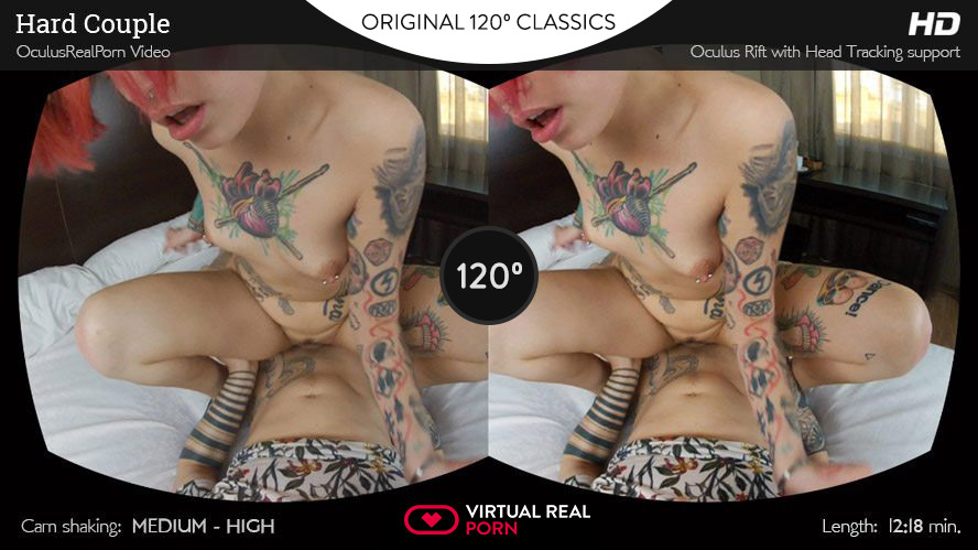 Hard Couple Head Tracking, Silvia Rubi, Apr 19, 2015, 3d vr porno, HQ 1080p