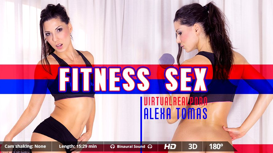 Fitness Sex, Alexa Tomas, Nov 07, 2016, 3d vr porno, HQ 1600p