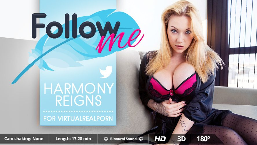 Follow Me, Harmony Reigns, Jan 7, 2016, 3d vr porno, HQ 1600p