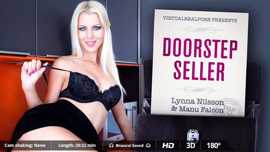 Doorstep Seller, Lynna Nilsson, Dec 26, 2015, 3d vr porno, HQ 1600p