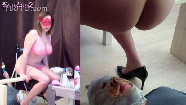 Messalina and her friends - We have a human toilet - 6 (HD 720p)