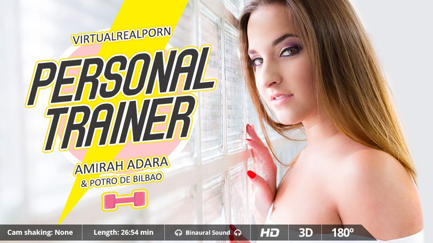 Personal Trainer, Amirah Adara, Jan 21, 2016, 3d vr porno, HQ 1600p