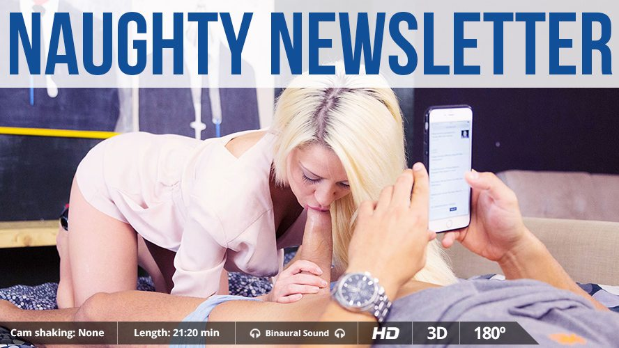 Naughty Newsletter, Sienna Day, Jul 13, 2015, 3d vr porno, HQ 1500p