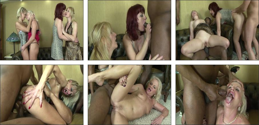 Housewives and Black Boys Sex Party, Scene 1