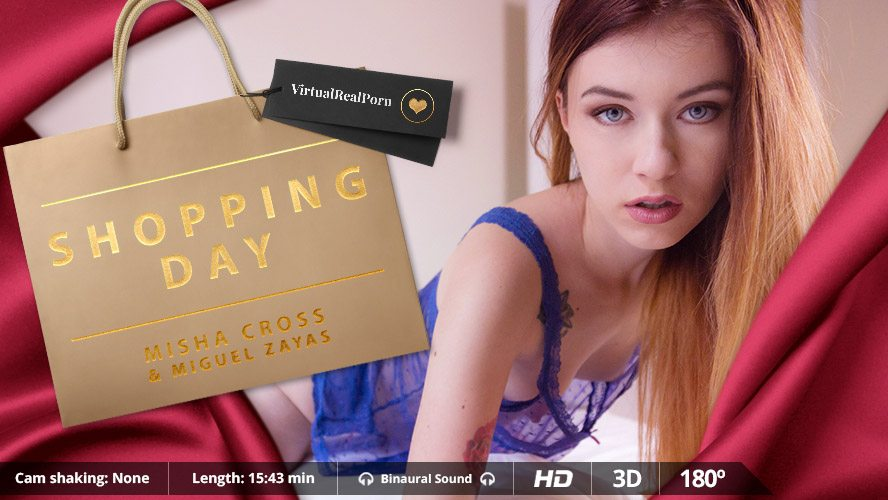 Shopping Day, Misha Cross, Mar 11, 2016, 3d vr porno, HQ 1600p