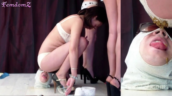 Messalina and her friends - We have a human toilet - 11 (HD 720p)