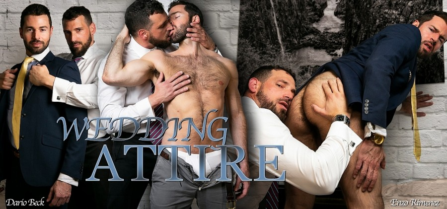 MenAtPlay - Wedding Attire - Dario Beck & Enzo Rimenez