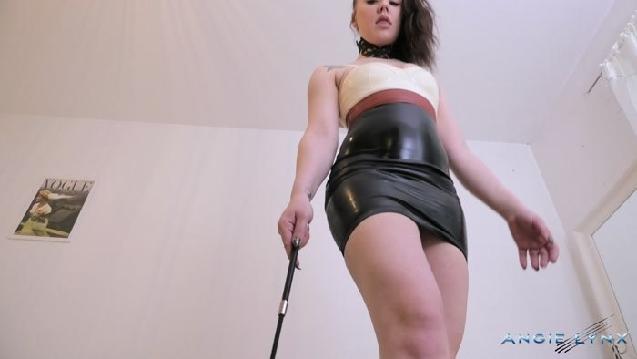 Angie Lynx - Dominating one of my fans dress in Latex