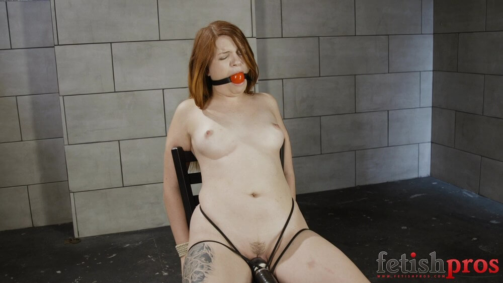 Alex Chairtied Bondage Orgasms