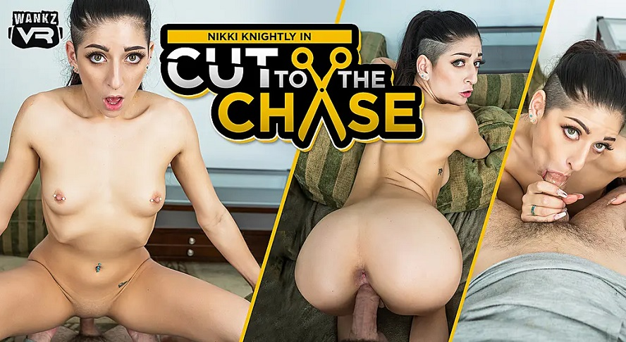Cut to the Chase, Nikki Knightly, 26 March, 2019, 4k 3d vr porno, HQ 2300