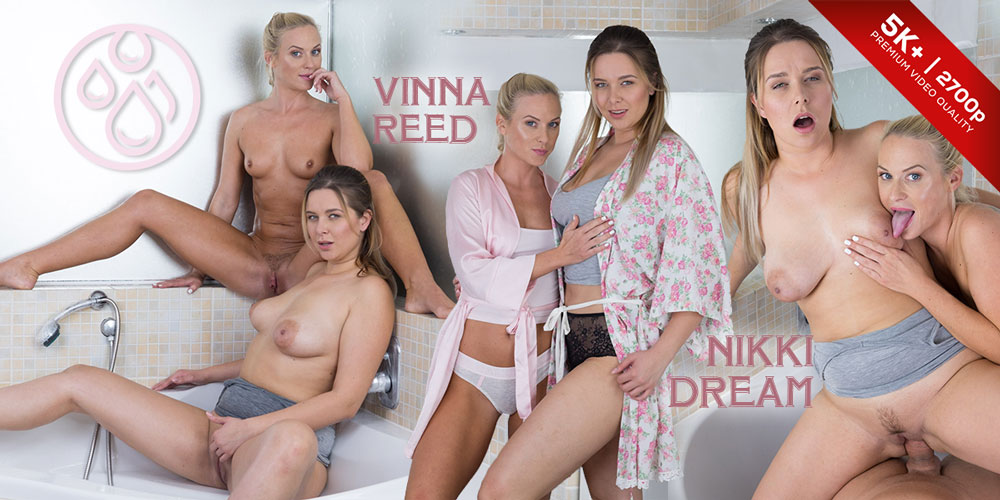 Pissing Heaven, Nikky Dream, Vinna Reed, Oct 18, 2018, 5k 3d vr porno, HQ 2700