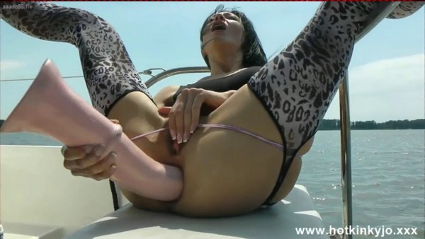 HKJ - Horse cock fuck on the boat (HD 720p)