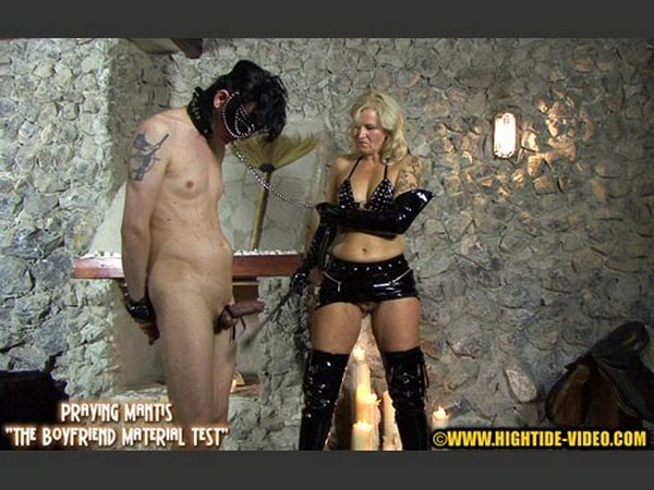 Lady Sarah, Marlen, 1 slave -  PRAYING MANTIS - BOYFRIEND MATERIAL TEST (HD 720p)