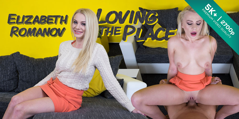 Loving the Place, Elizabeth Romanov, Feb 5, 2019, 5k 3d vr porno, HQ 2700