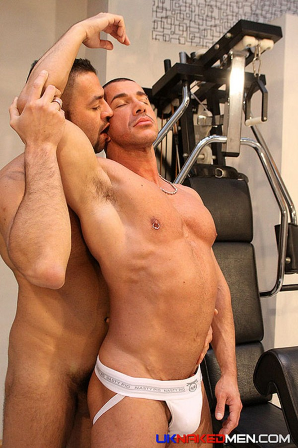 UKNakedMen - Pump It Hard - Marius Mugler & Marco Salqueiro