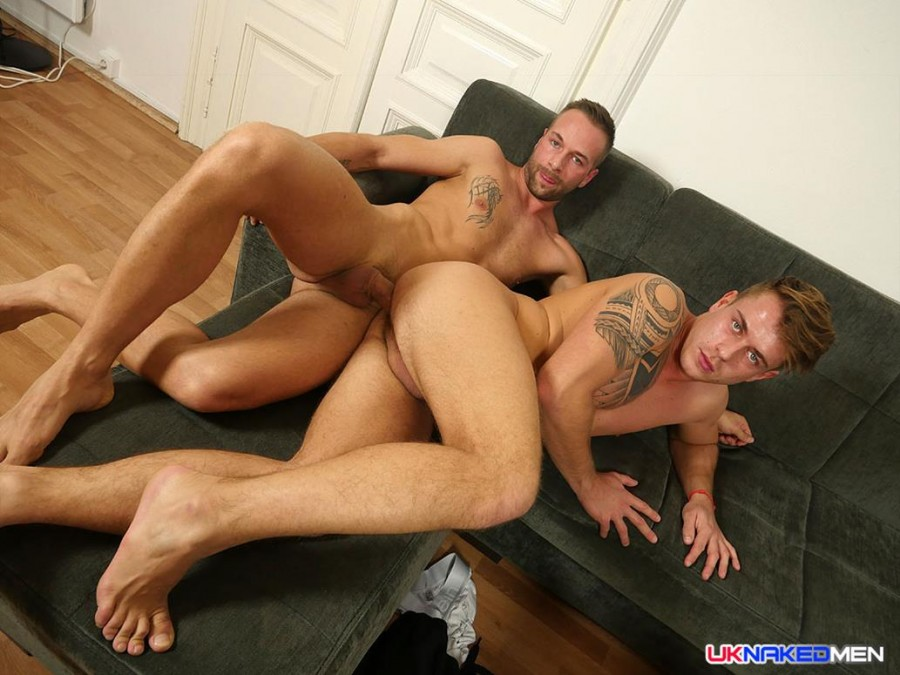 UKnakedMen - Zach Miro and Clive Walker