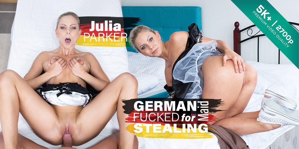 German Maid Fucked for Stealing, Julia Parker, May 7, 2019, 5k 3d vr porno, HQ 2700
