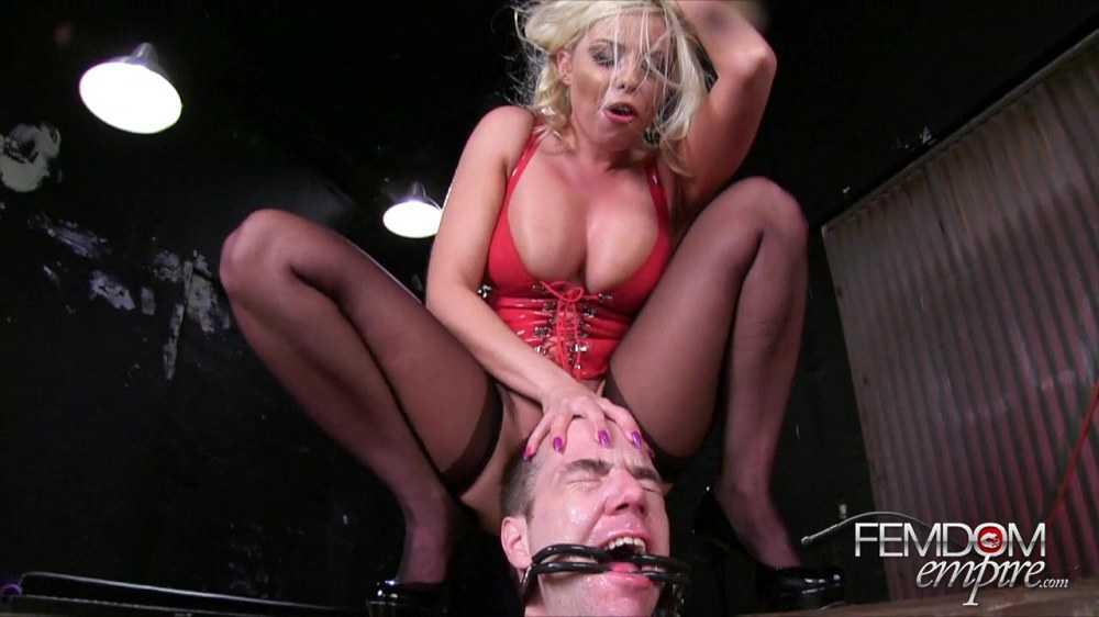 Britney Amber - Human Spit Box